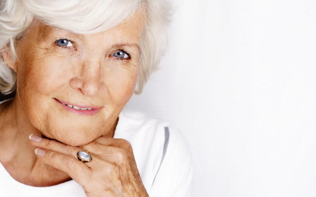 Frauen-Naturheilkunde Seniorin